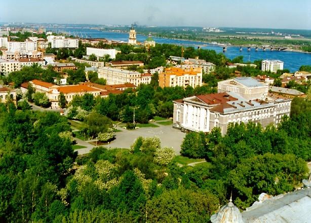 город Пермь, центр Пермского края, Россия - один из древних городов Европы